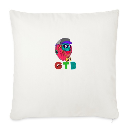 "GTB - Throw Pillow Cover 18"" x 18"""