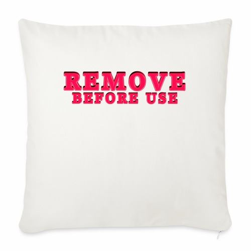 """Remove Before Use for light - Throw Pillow Cover 17.5"""" x 17.5"""""""