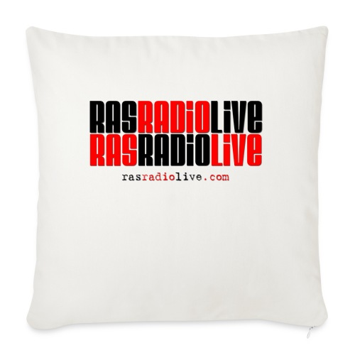 "rasradiolive png - Throw Pillow Cover 17.5"" x 17.5"""
