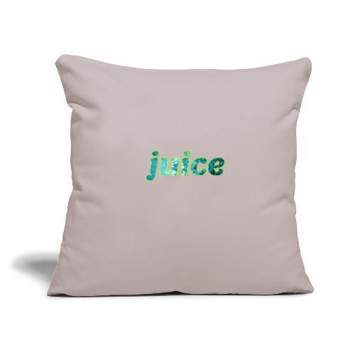 "juice - Throw Pillow Cover 17.5"" x 17.5"""