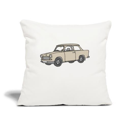 """Trabant (papyrus car) - Throw Pillow Cover 17.5"""" x 17.5"""""""