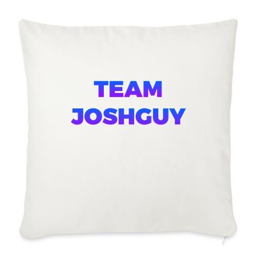 """Team JoshGuy - Throw Pillow Cover 18"""" x 18"""""""