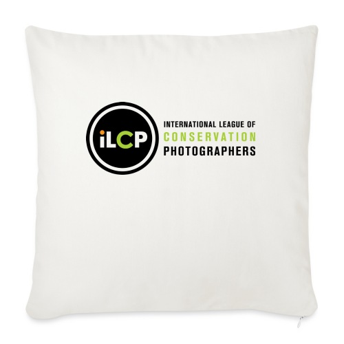 "iLCP logo horizontal RGB png - Throw Pillow Cover 18"" x 18"""