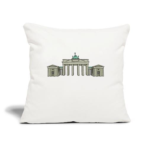 """Brandenburg Gate Berlin - Throw Pillow Cover 17.5"""" x 17.5"""""""