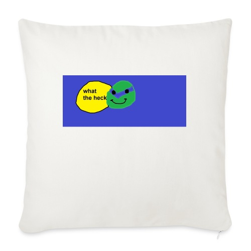 "hello - Throw Pillow Cover 17.5"" x 17.5"""
