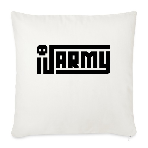"iJustine - iJ Army Logo - Throw Pillow Cover 18"" x 18"""