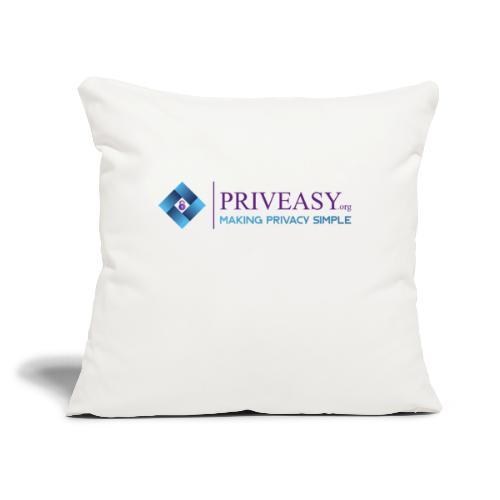 "Design 1 - Throw Pillow Cover 17.5"" x 17.5"""