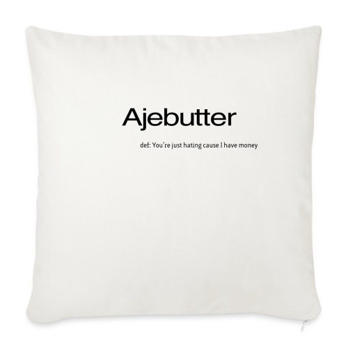 """ajebutter - Throw Pillow Cover 17.5"""" x 17.5"""""""