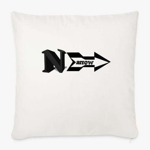 "Narrow - Throw Pillow Cover 17.5"" x 17.5"""