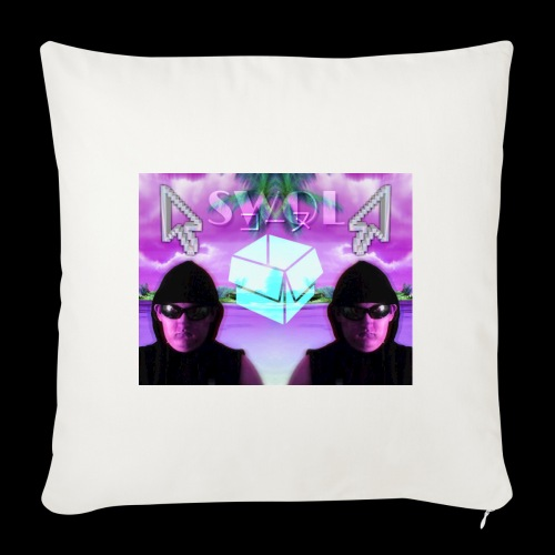 "2nd Place Design - Throw Pillow Cover 18"" x 18"""