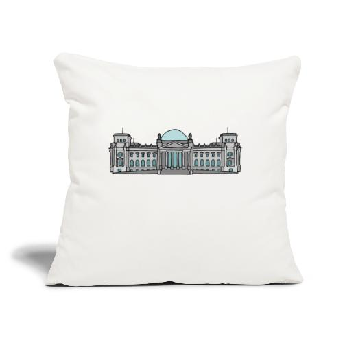 """Reichstag building Berlin - Throw Pillow Cover 17.5"""" x 17.5"""""""