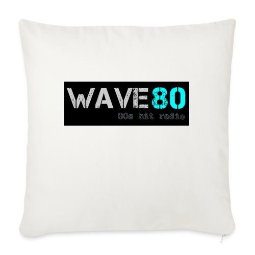 "Main Logo - Throw Pillow Cover 18"" x 18"""