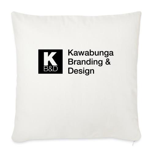 """KBD signature - Throw Pillow Cover 18"""" x 18"""""""