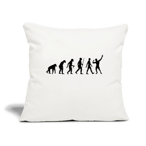"""Evolution of Zyzz - Throw Pillow Cover 17.5"""" x 17.5"""""""