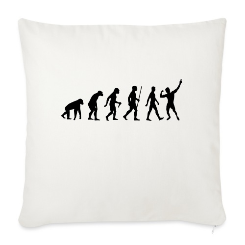 "Evolution of Zyzz - Throw Pillow Cover 17.5"" x 17.5"""