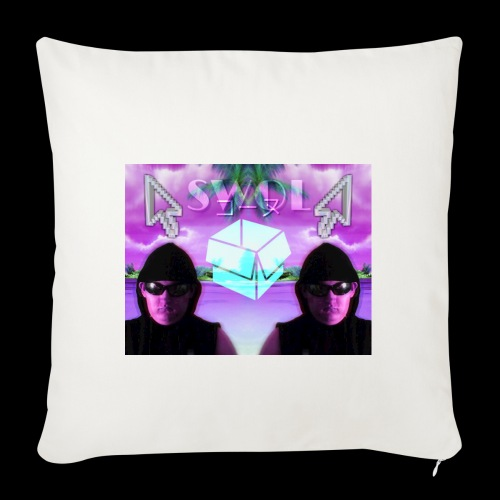 """2nd Place Design - Throw Pillow Cover 18"""" x 18"""""""