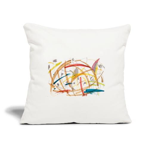 "Farm - Throw Pillow Cover 18"" x 18"""