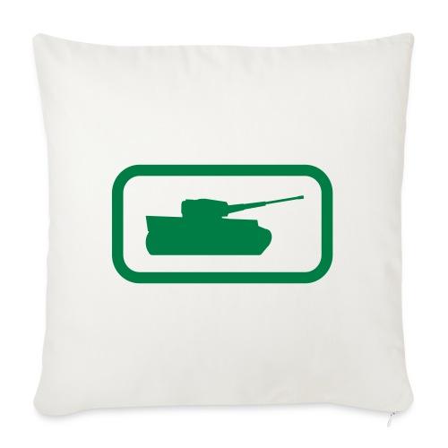 """Tank Logo - Multi-Color - Axis & Allies - Throw Pillow Cover 17.5"""" x 17.5"""""""