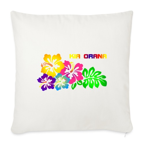 "Kia orana - Throw Pillow Cover 17.5"" x 17.5"""