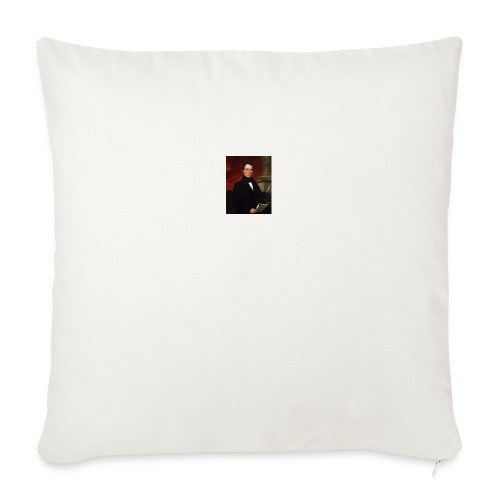 "WIlliam Rufus King - Throw Pillow Cover 18"" x 18"""