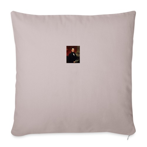 """WIlliam Rufus King - Throw Pillow Cover 18"""" x 18"""""""