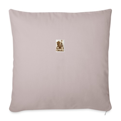 "BB - Throw Pillow Cover 18"" x 18"""