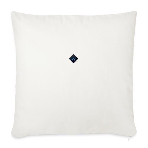 "White_Sparclz Gaming CHANEL LOGO 22 - Throw Pillow Cover 18"" x 18"""