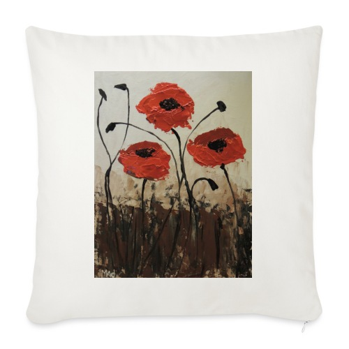 """Remember Them - Throw Pillow Cover 17.5"""" x 17.5"""""""