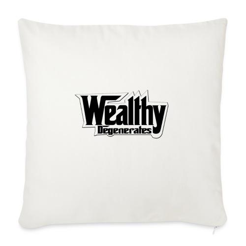 "DENALI VANDAL TEE - Throw Pillow Cover 18"" x 18"""
