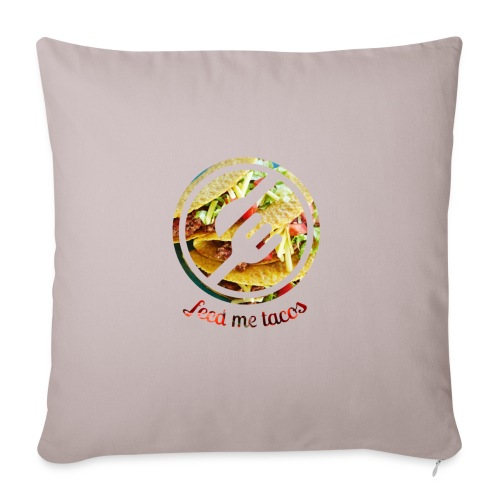 "tacolife - Throw Pillow Cover 18"" x 18"""