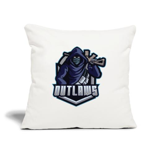 "Outlaws Gaming Clan - Throw Pillow Cover 18"" x 18"""