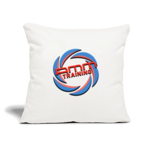 "AMMT LOGO WEB - Throw Pillow Cover 18"" x 18"""