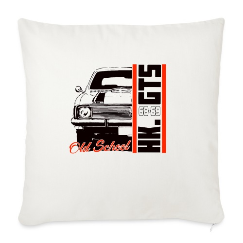 """HK 1/2 OLDSCHOOLTSHIRTS - Throw Pillow Cover 18"""" x 18"""""""