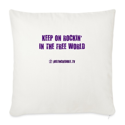 "KORITFW - Throw Pillow Cover 17.5"" x 17.5"""