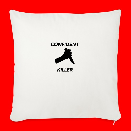 """OxyGang: Confident Killer Products - Throw Pillow Cover 17.5"""" x 17.5"""""""