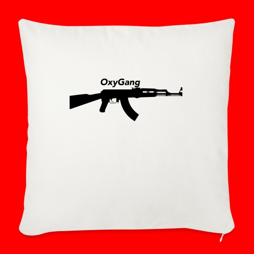 """OxyGang: AK-47 Products - Throw Pillow Cover 17.5"""" x 17.5"""""""