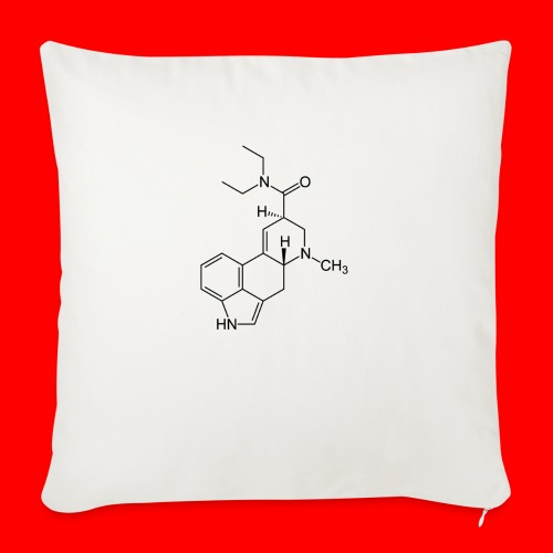 """OxyGang: LSD Molecule Products - Throw Pillow Cover 17.5"""" x 17.5"""""""