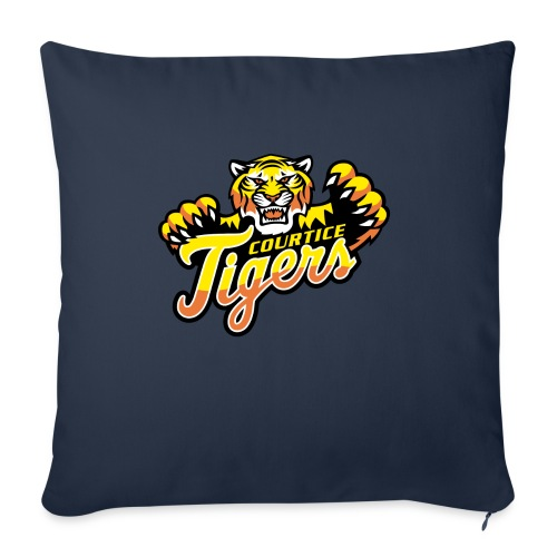 """Courtice FINAL - Throw Pillow Cover 18"""" x 18"""""""