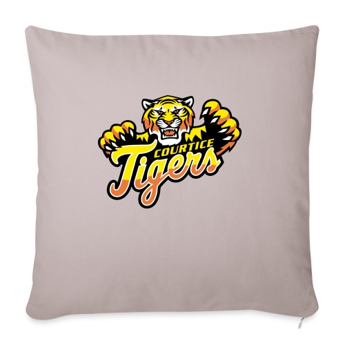 "Courtice FINAL - Throw Pillow Cover 18"" x 18"""