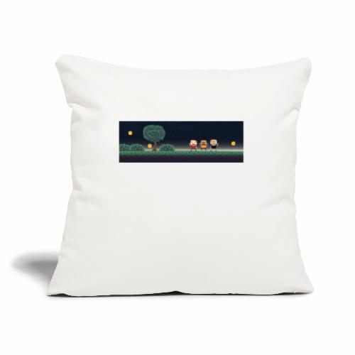 """Twitter Header 01 - Throw Pillow Cover 18"""" x 18"""""""