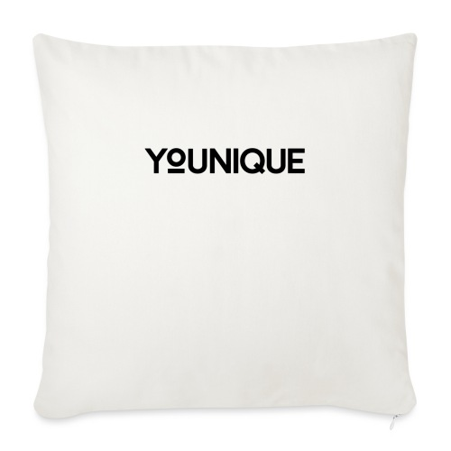 "Uniquely You - Throw Pillow Cover 18"" x 18"""