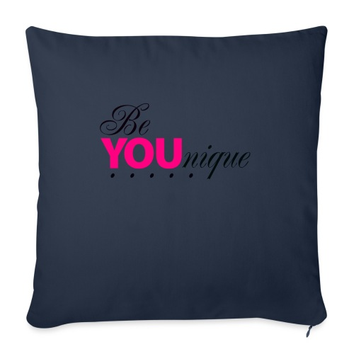 "Be Unique Be You Just Be You - Throw Pillow Cover 18"" x 18"""