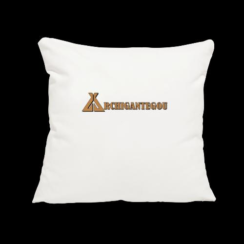 "Archigantegou - Throw Pillow Cover 17.5"" x 17.5"""