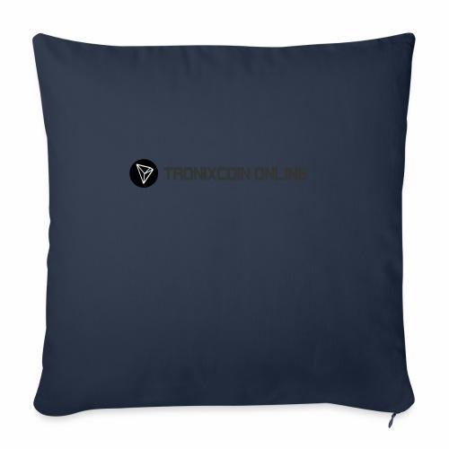 "Tronixcoin Online - Throw Pillow Cover 18"" x 18"""