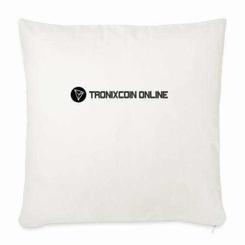 "Tronixcoin Online - Throw Pillow Cover 17.5"" x 17.5"""