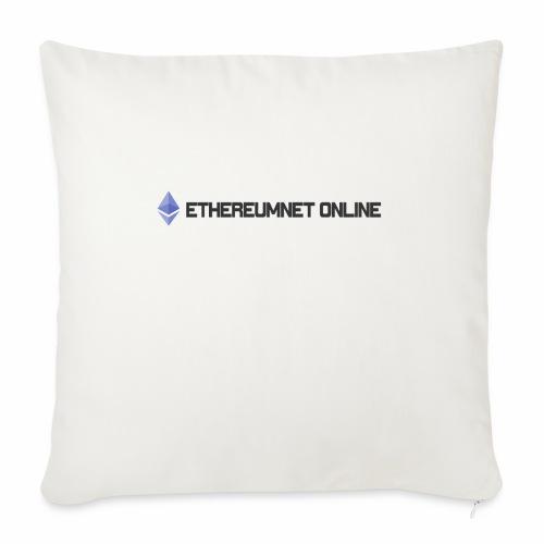 "Ethereum Online light darkpng - Throw Pillow Cover 17.5"" x 17.5"""