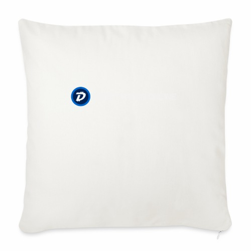 "Digibyte online light - Throw Pillow Cover 18"" x 18"""