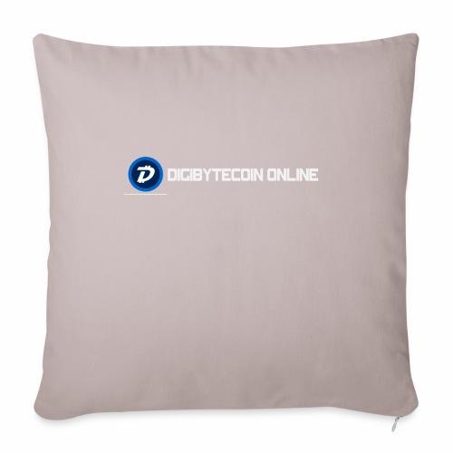 """Digibyte online light - Throw Pillow Cover 18"""" x 18"""""""