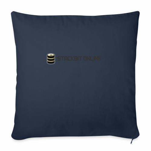 "stackbit online - Throw Pillow Cover 18"" x 18"""