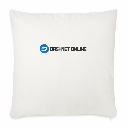 "dashnet online dark - Throw Pillow Cover 17.5"" x 17.5"""